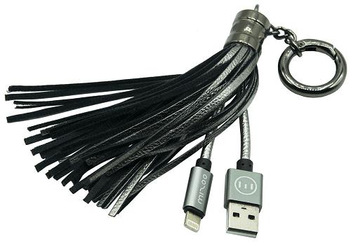 Mizoo X900 lightning-USB kabel, stříbrná