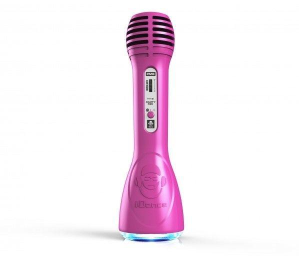 iDance PM-6 fialový párty mikrofon
