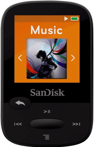 SanDisk Sansa Clip Sports 8 GB černý