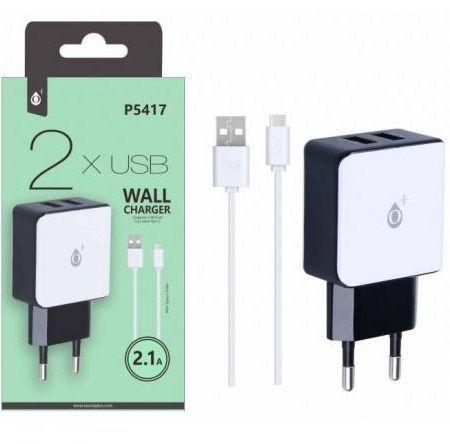 Aligator P5417 bílá + USB-C kabel, nabíječka