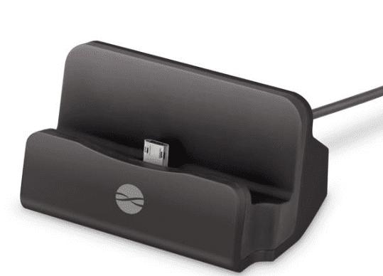 Forever DS01 dokovací stanice microUSB, černá
