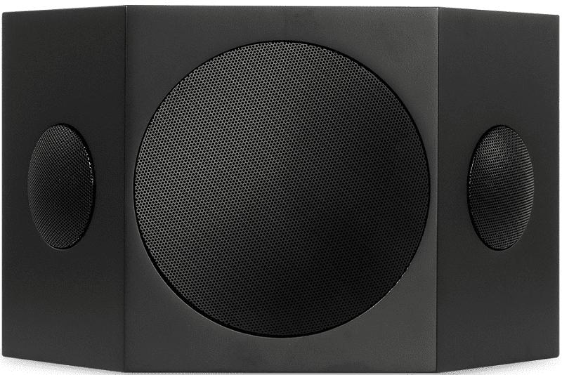 Saxx curvedSOUND CR 10 černý (1 pár)