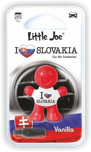 Little Joe I love Slovakia osvěžovač do auta