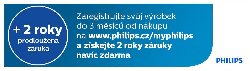+2 roky záruky zdarma na zastřihovače vlasů Philips