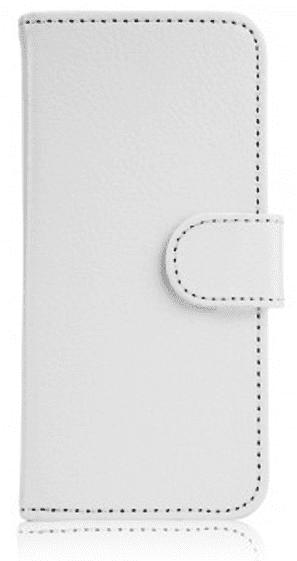 Xqisit Slim Wallet pouzdro pro iPhone SE/5S/5, bílé