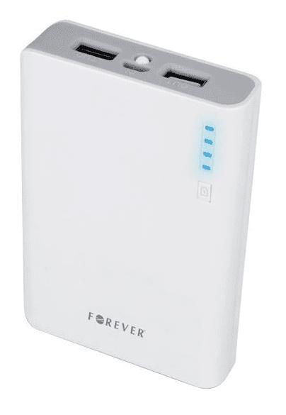 Forever TB-012 powerbanka 10000 mAh, šedá