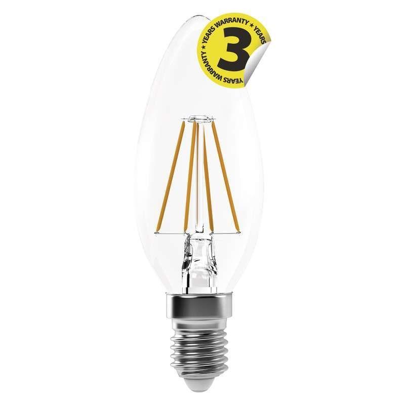 EMOS LED FLM CANDLE NW 4W E14