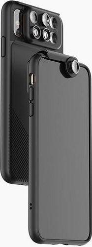 ShiftCam 2.0 6v1 cestovní set pro Apple iPhone Xs Max, černá