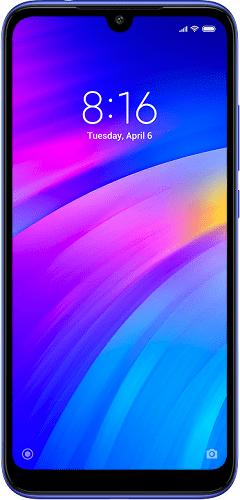 Xiaomi Redmi 7 64 GB modrý