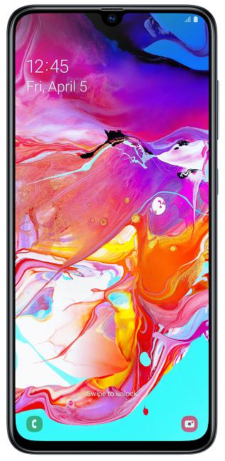 Samsung Galaxy A70 128 GB černý