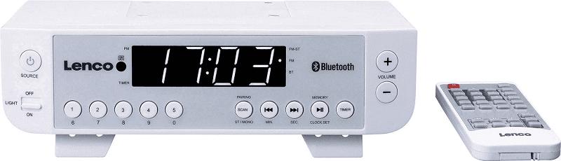 Lenco KCR-100 stříbrné kuchyňské rádio