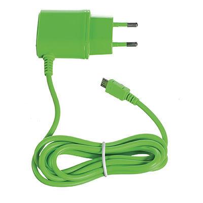 CELLY nabíječka micro USB 1A zelená