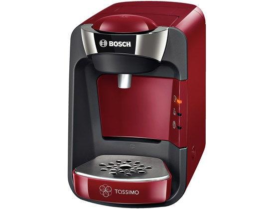 BOSCH TAS3203 SUNY Tassimo (červená) - Kapslový kávovar