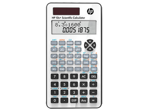 HP 10S + vědecká kalkulačka
