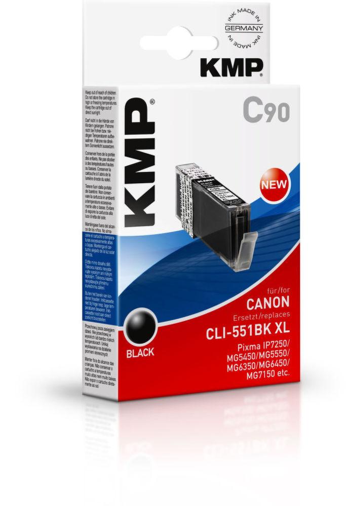 KMP C90 komp.recykl.napln CLI-551BK XL