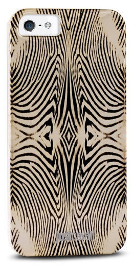 Puro Just Cavalli zadní kryt Zebra pro iPhone