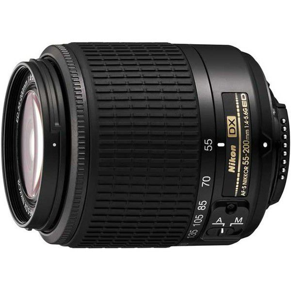 Nikon 55-200 mm AF-S DX - teleobjektiv