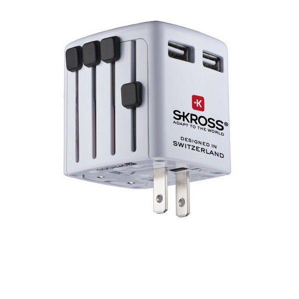 SOLID DC07 USB cestovní nabíjecí adaptér