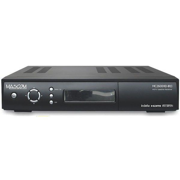 Mascom MC2600HD IRCI (černý)