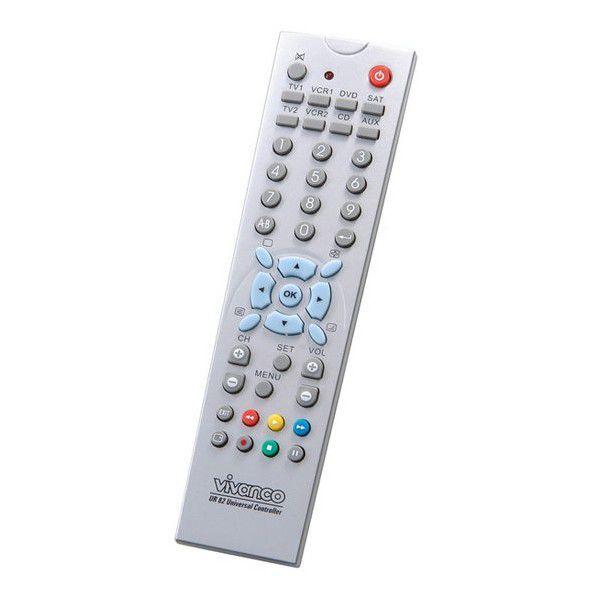 Vivanco V-25603 Univerzální dálkové ovládání 8v1 pro TV, SAT, DVD, VCR, DVB-T a pod.