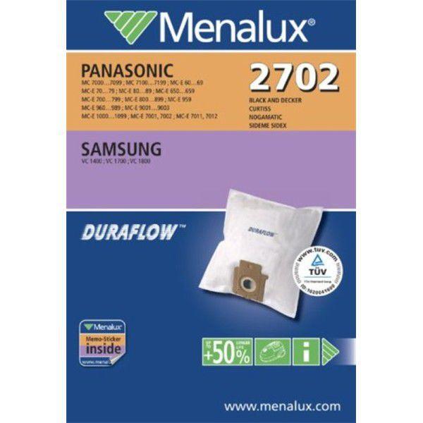 Menalux 2702 - sáčky do vysavače