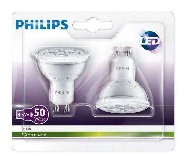 Philips LED 50W GU10 36D 230V 2BC/10