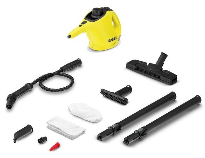 Viacúčelový čistič - KARCHER SC 1 Premium Floor Kit, Parný čistič