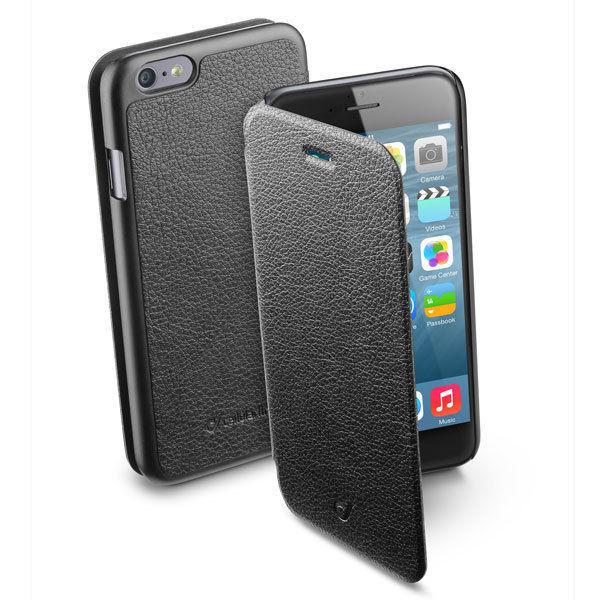 CellularLine Book Essential Pocket pro iPhone 6/6S (černé)