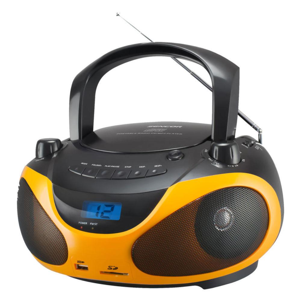 SENCOR SPT 228 (oranžové) - rádio