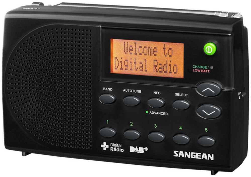 Sangean DPR-65 - digitální rádio