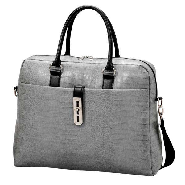 Logo OMT156NXA0NN šedá - dámská taška na notebook  03948ab222