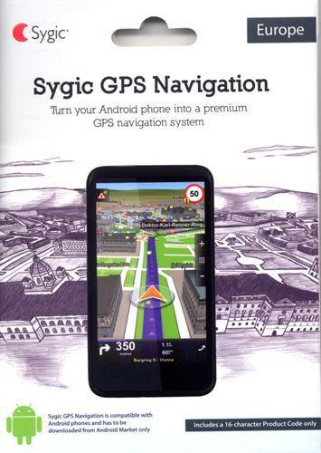 Sygic GPS LifeTime navigační software
