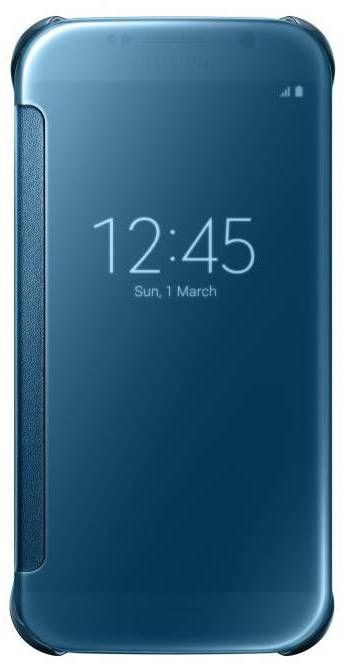 Samsung Clear View pouzdro EF-ZG920BL pro Galaxy S6 (modré)