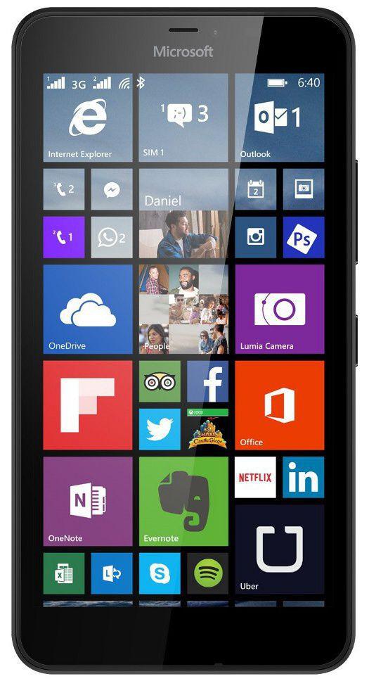 Microsoft Lumia 640 XL LTE (černý)