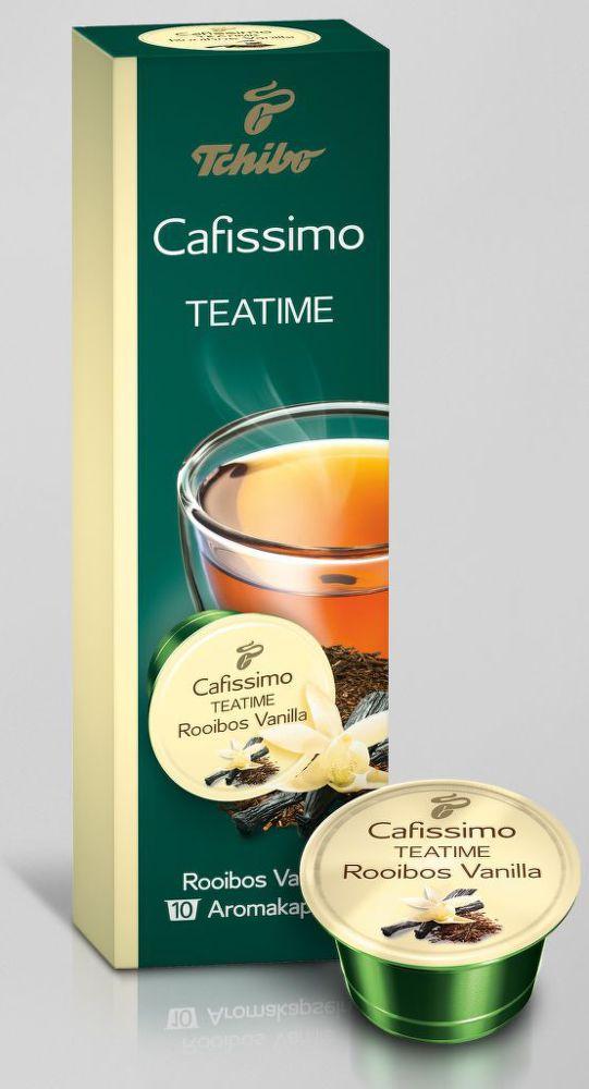 Tchibo Cafissimo Teatime Rooibos Vanilla 25g - kaps. čaj