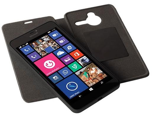 Krusell flipové pouzdro pro Nokia Lumia 640 XL (černé)