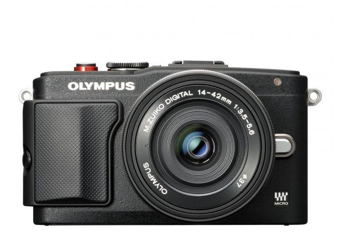 Olympus E-PL6 DZ KIT (černý)
