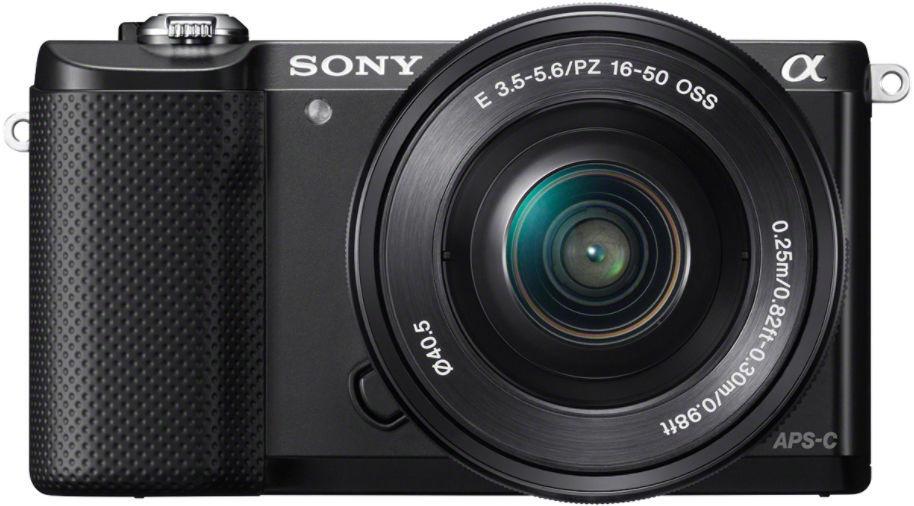 Sony Alpha A5000 Double Lens Kit - SEL-P 16-50 + SEL 55-210