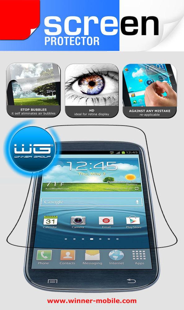 Winner ochranná fólie pro Samsung Galaxy Note 3 (2ks)