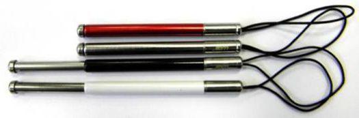 Winner dotykové pero kovové (červené)