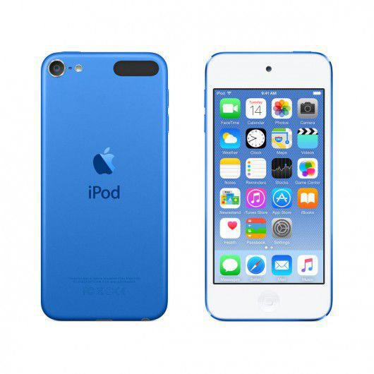 Apple iPod Touch 16GB (modrý)