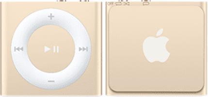 Apple iPod Shuffle 2GB (zlatý) MKM92HC/A