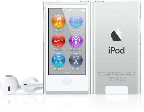 Apple iPod Nano 16GB (stříbrný)
