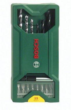 Bosch 15 dílná minisada vrtáků X-Line