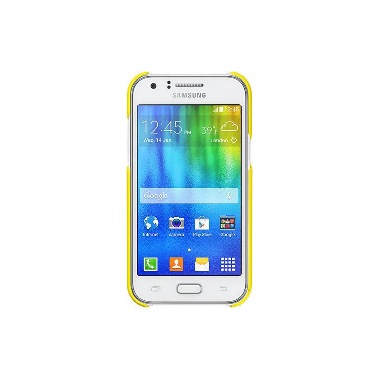 Samsung EF-PJ100B ochranný zadní kryt pro Galaxy J1 (žlutý)