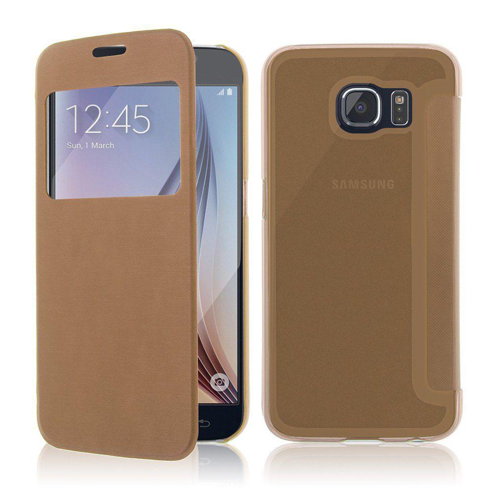 Winner pouzdro Slimbook pro Samsung Galaxy S6 (zlaté)