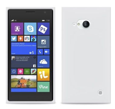 Puro silikonový kryt pro Nokia Lumia 730 (čirý)