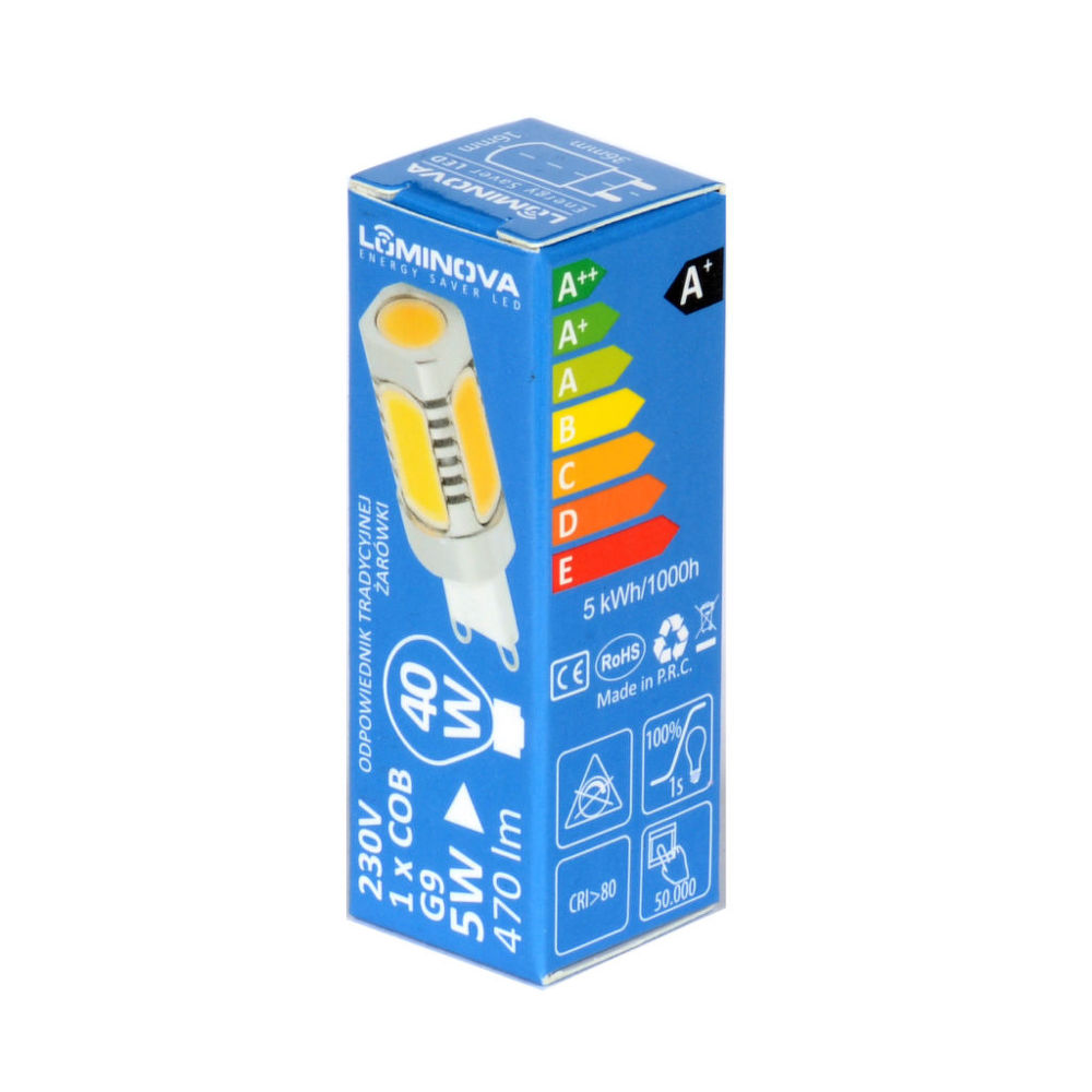 Winner LED žárovka č.11 G9 5W 470 lm