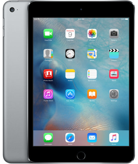 Apple iPad mini 4 Wi-Fi Cell 16GB (vesmírně šedý) MK6Y2FD/A