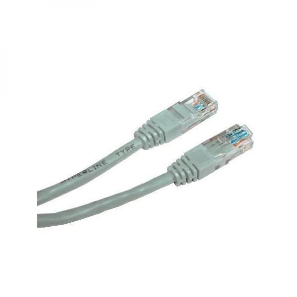 KB020ANS01 - UTP síťový kabel, Cat.5e, RJ45, nestíněný, 2m
